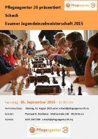 Flyer Jugendeinzelmeisterschaft 2015